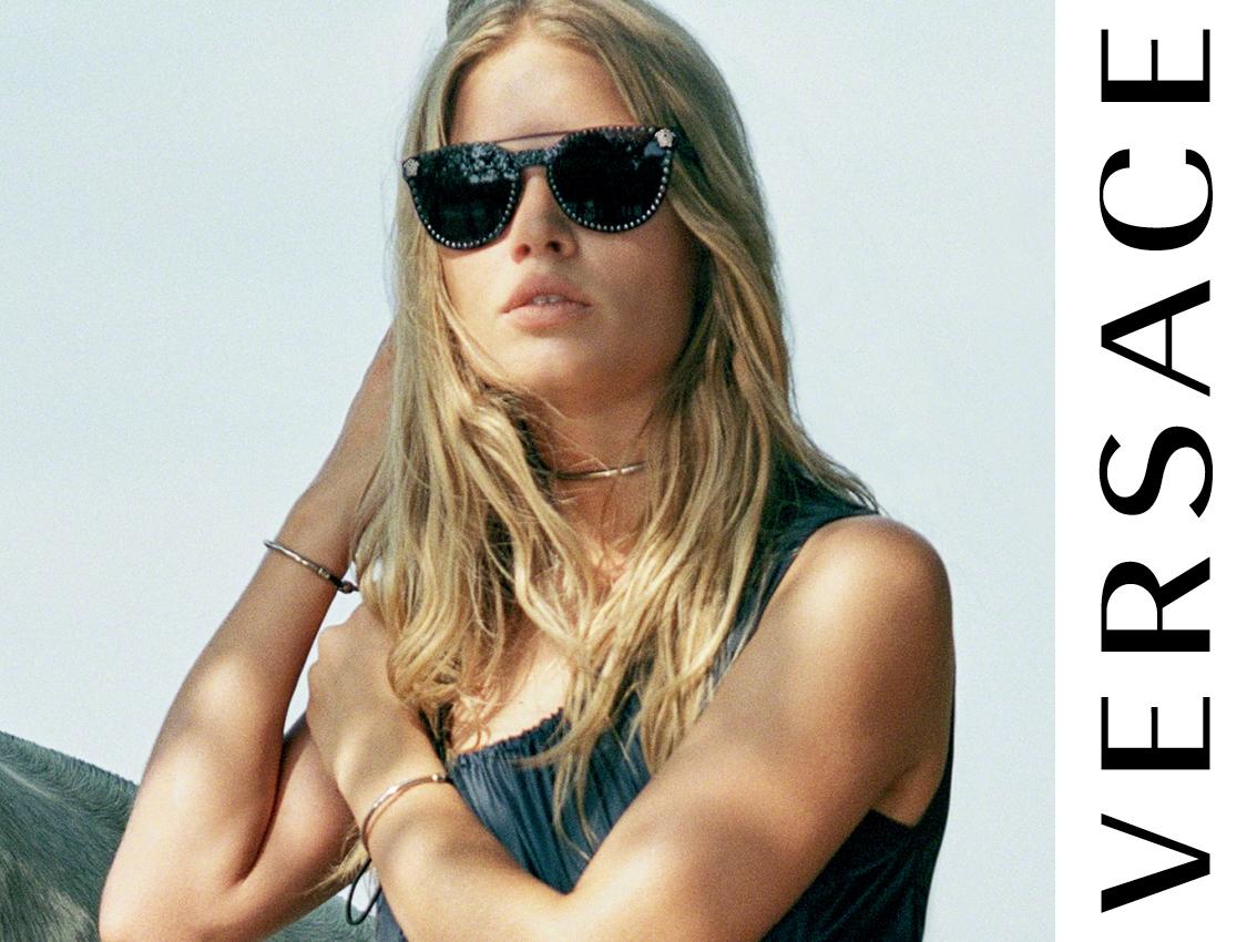 versace occhiali da sole e da vista
